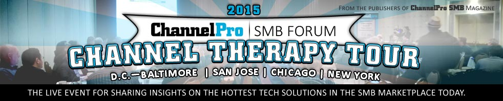 SaaSMAX Brings Innovative Software-as-a-Service (SaaS) to 2015 San Jose ChannelPro-SMB Forum