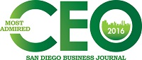 Dina Moskowitz, Finalist in San Diego's 2016 Most Admired CEO Awards!