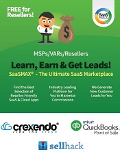 SaaSMAX Showcases Intuit QuickBooks Point of Sale and Crexendo Unified Communications Solution to MSPs and VARs at Retail IT VAR of the Future Chicago!