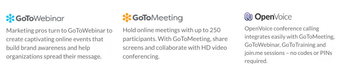 Webinar with LogMeIn's Channel Leadership: GoToMeeting, GoToWebinar & OpenVoice