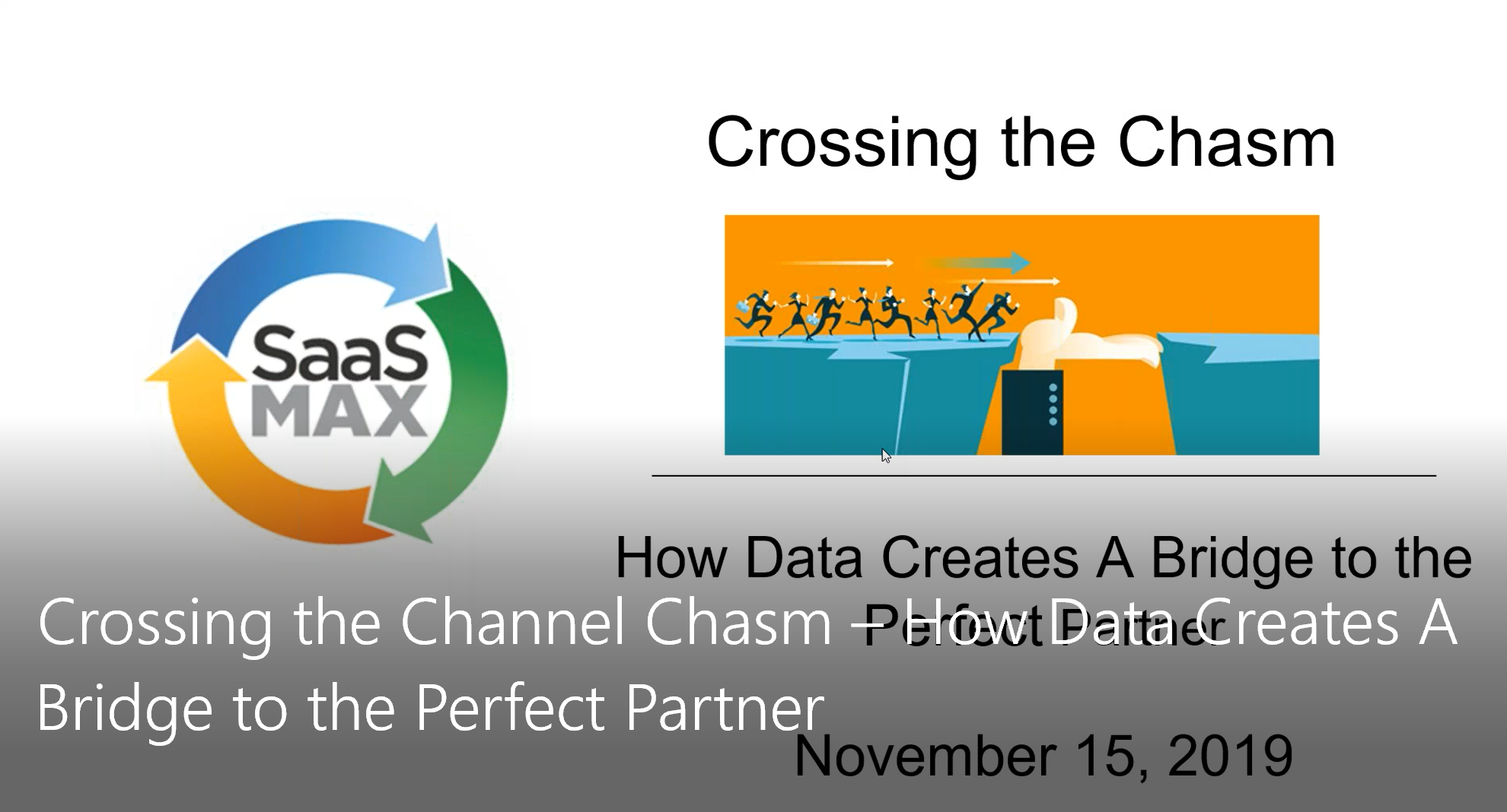 Crossing the Channel Chasm – How Data Creates A Bridge to the Perfect Partner